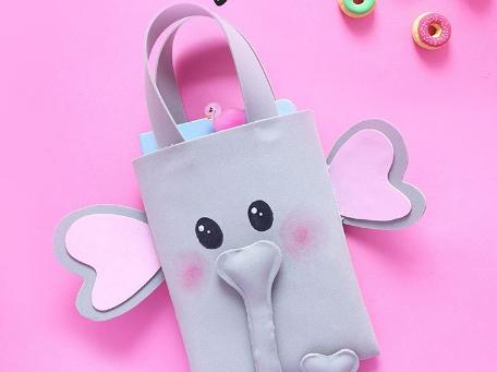 Elefanten Tasche basteln