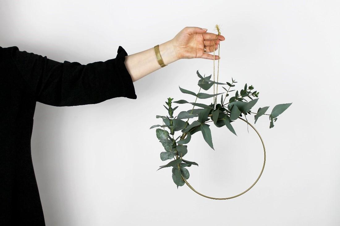 Blumenring selbstgemacht